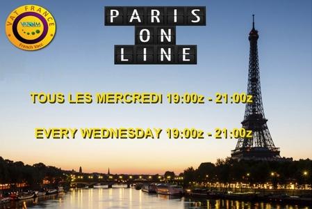 PARIS ONLINE - Every Wednesday